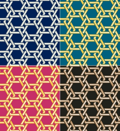 seamless islamic geometric pattern Stock Vector - 22386722