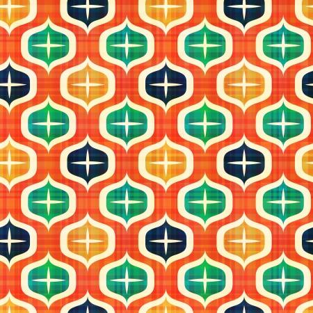 arte optico: modelo geom?trico abstracto sin fisuras Vectores