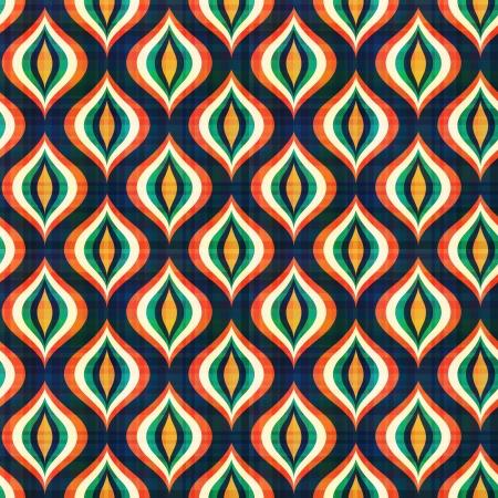 シームレスな抽象的な幾何学模様