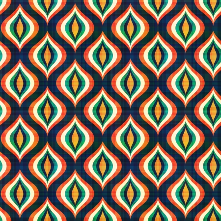 70s: seamless abstract geometric pattern