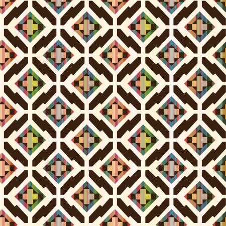 naadloze abstracte etnische geometrische patroon