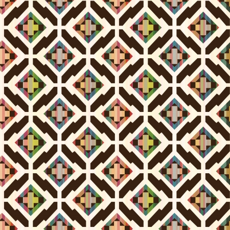 seamless abstract ethnic geometric pattern Vector