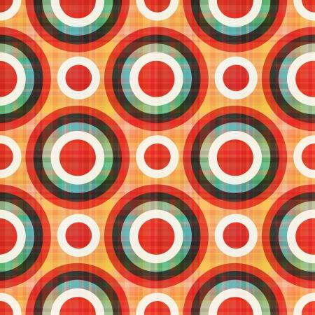 Nahtlose Kreise Polkapunktmuster Standard-Bild - 22386734