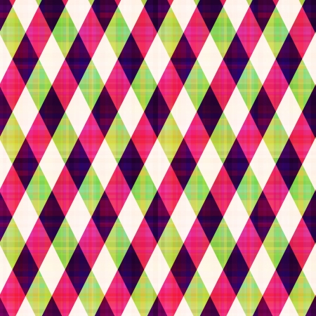 seamless abstract geometric checkered pattern Vector