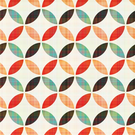 seamless geometric circular pattern Vector