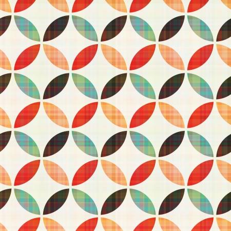 quadrant: seamless geometric circular pattern