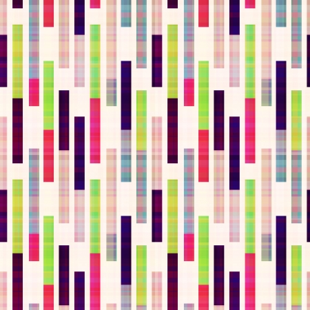 seamless abstract geometric striped pattern Vector