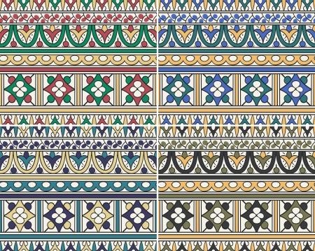 seamless islamic geometry pattern