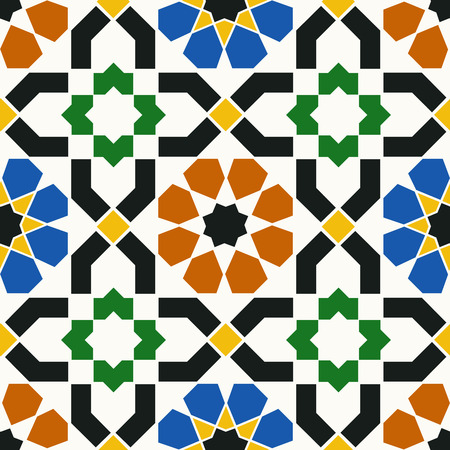 morocco: seamless islamic geometric pattern Illustration