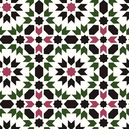 seamless islamic geometric pattern Vector