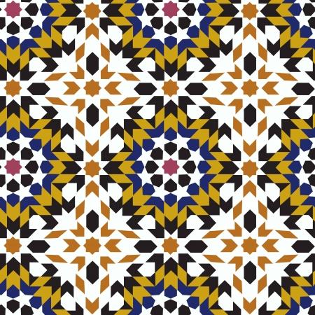 seamless islamic geometric pattern Stock Vector - 22552425