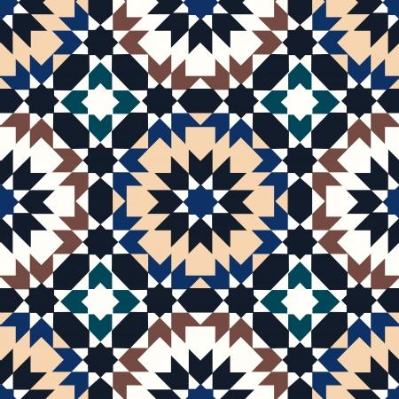 シームレスなイスラム幾何学模様