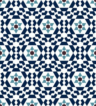 seamless islamic geometric pattern 向量圖像