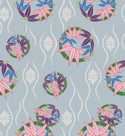 flor de sakura: patrón floral japonés transparente