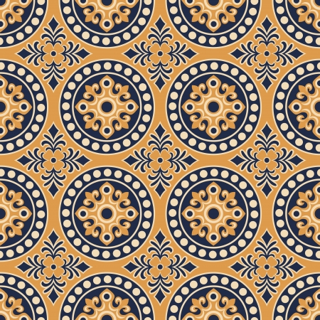 seamless chinese traditional pattern Stock Vector - 23330631