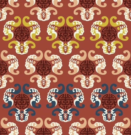 auspicious: seamless chinese auspicious clouds pattern  Illustration