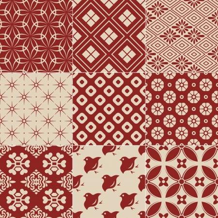 vintage japanese traditional pattern Reklamní fotografie - 23330641
