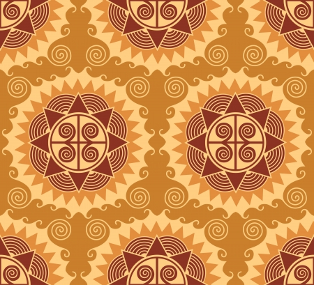 repeatable: african style seamless pattern