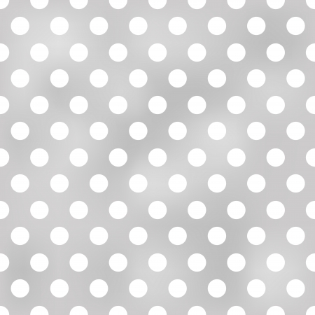 seamless polka dots grey pattern  Vector