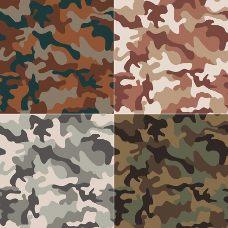 taupe: camouflage seamless pattern
