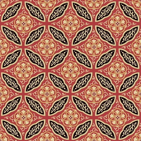 seamless japanese interlocking pattern  Иллюстрация
