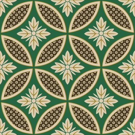 kyoto: seamless japanese interlocking circles pattern