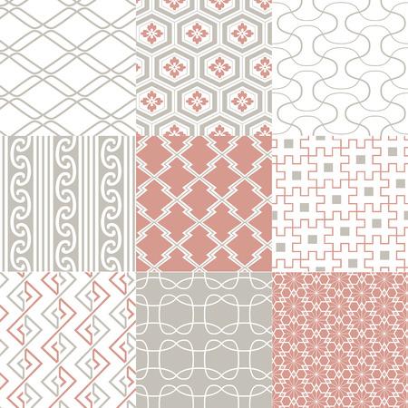japanese motif: seamless japanese pattern