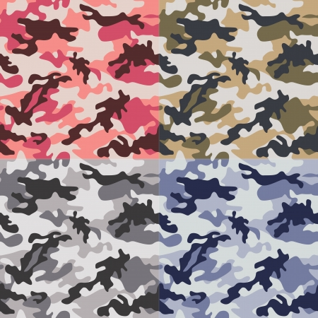 airforce: camouflage seamless pattern