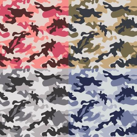 print: Tarnung seamless pattern Illustration