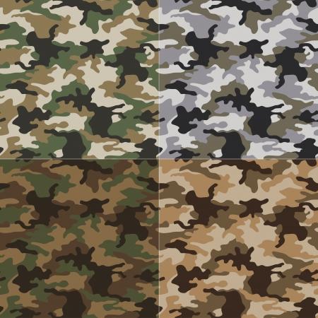 camoflage: seamless camouflage pattern
