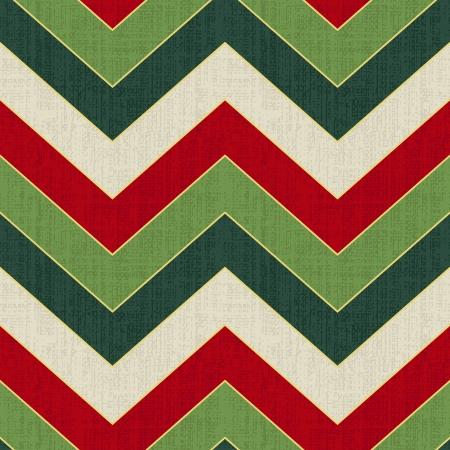 chevron de zigzag Seamless Noël