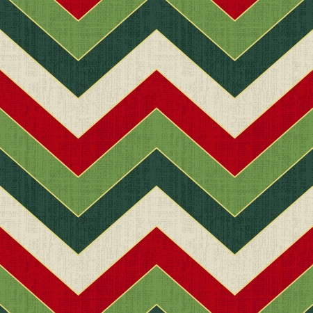 abstract seamless: zigzag chevron seamless christmas pattern   Illustration