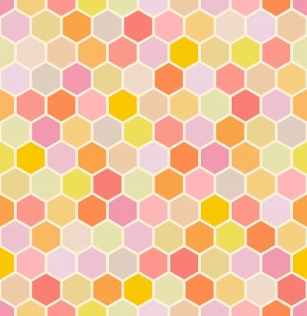 seamless hexagon pattern Stock Vector - 24157494