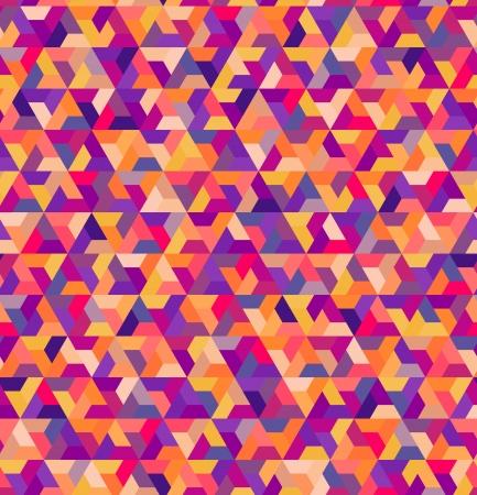 Naadloze geometrische kleurrijke patroon Stock Illustratie