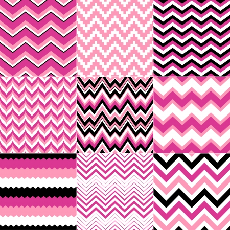 prints: seamless chevron pattern