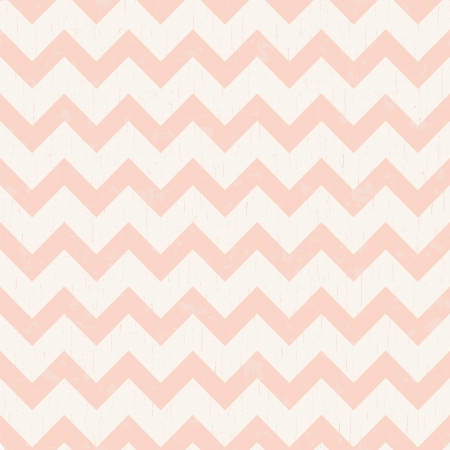 soft coral: seamless chevron pink pattern  Illustration