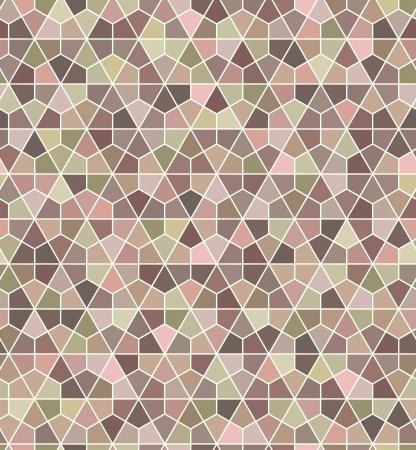 paillette: seamless soft hexagonal pattern  Illustration