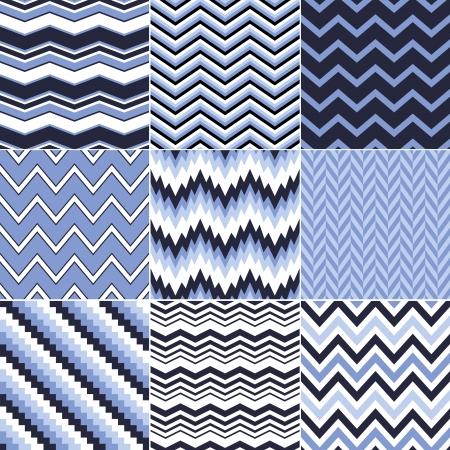 azul marino: patr�n de chevron fisuras