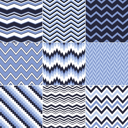 navy blue: seamless chevron pattern