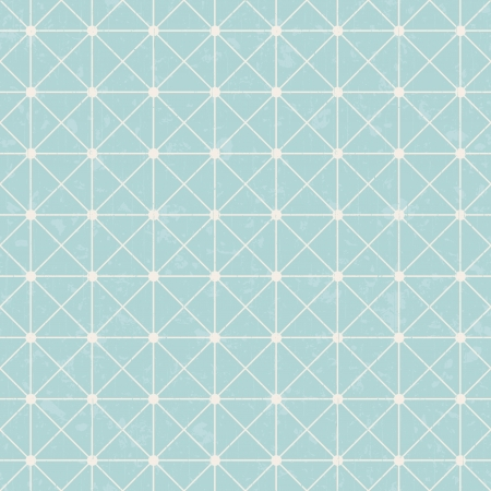 seamless interlocking mesh geometric pattern  Vector