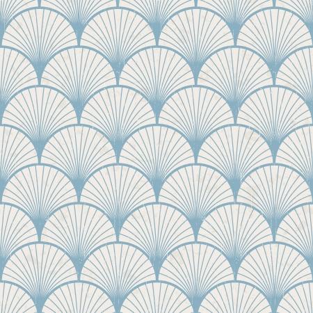 아쿠아: 원활한 복고풍 일본 패턴 텍스처 일러스트
