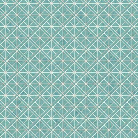 distressed paper: seamless interlocking mesh geometric pattern