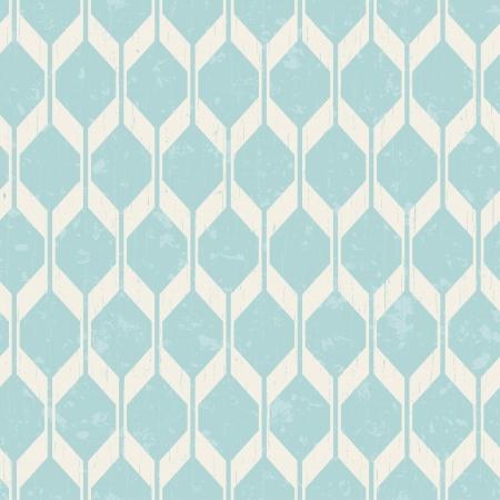 aquamarin: nahtlos ineinandergreifendes Geflecht geometrische Muster