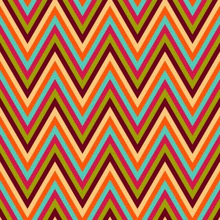 zag: seamless retro zig zag pattern  Illustration