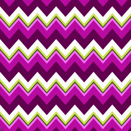 seamless retro zig zag pattern Stock Vector - 24374092