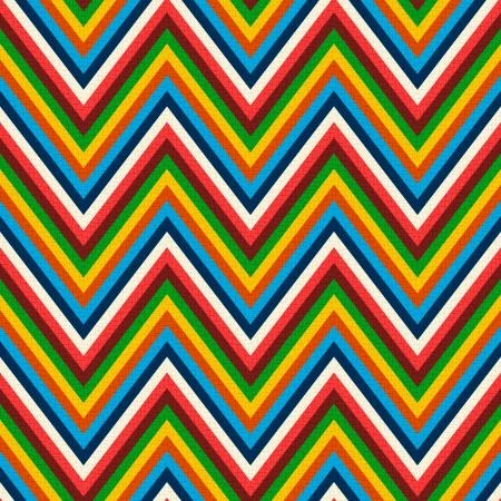 Seamless pattern a zig zag retrò Archivio Fotografico - 24374098
