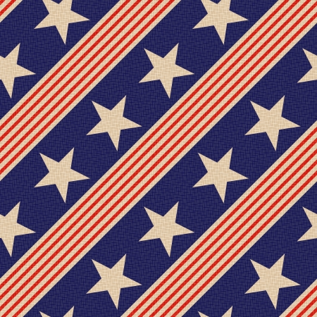 seamless patriotic stars background