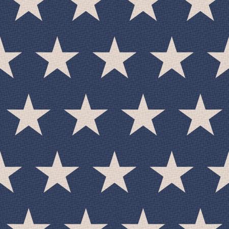 muster: nahtlose patriotischen Sterne Hintergrund
