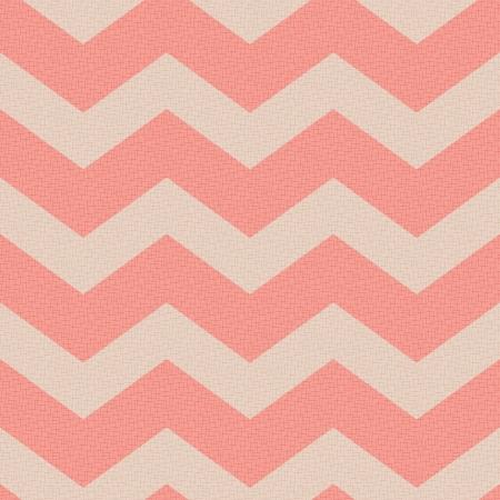 girly: seamless retro zig zag pattern  Illustration