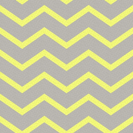 seamless retro zig zag pattern  Illustration